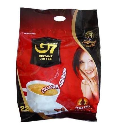Растворимый кофе 4в1 Trung Nguyen G7. БЕЗ САХАРА. Коробка 24х22 штук.