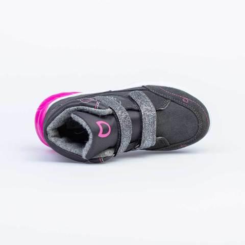 Ботинки серые светодиоды  Котофей (ТОК Урал)