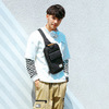 Однолямочный рюкзак Golden Wolf GXB00110 Черный