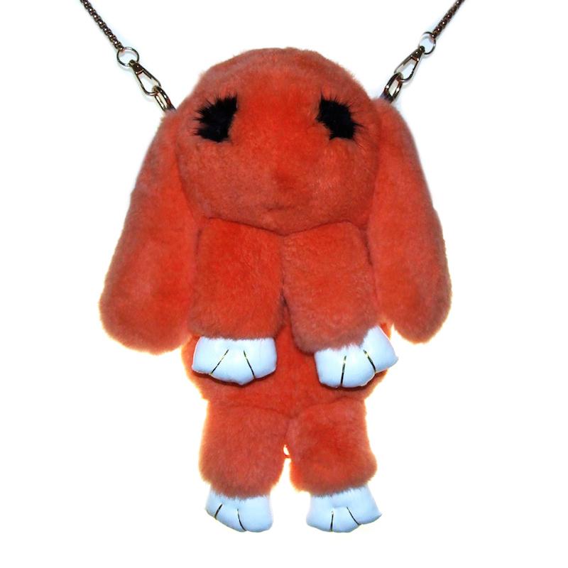 Оранжевый вариант цвета сумки кролика