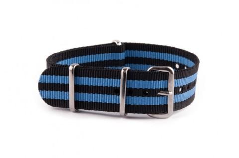 Nato Strap Black Blue
