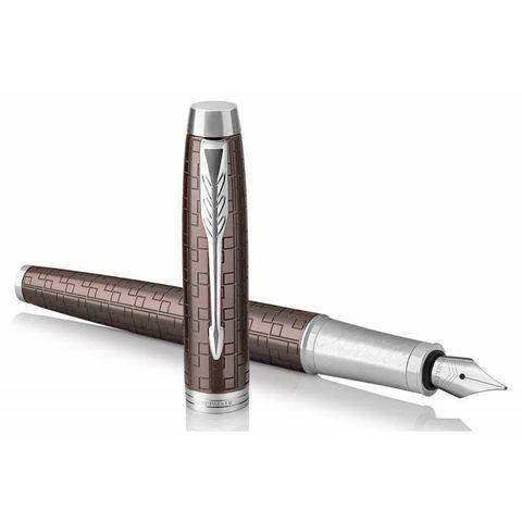 Перьевая ручка Parker IM Premium F324 Brown CT перо F (1931676)