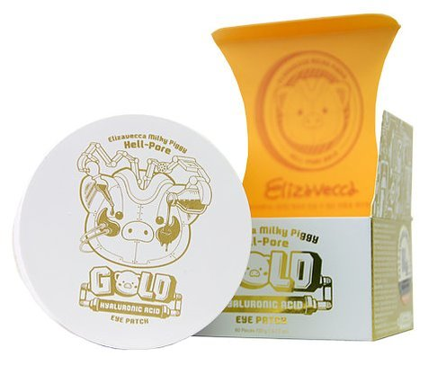 Milky Piggy Hell-pore Gold Hyaluronic Acid Eye Patch