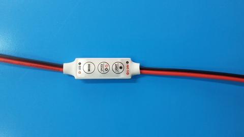 Мини Контроллер одноцветный 12V. 72W. 6A на проводе