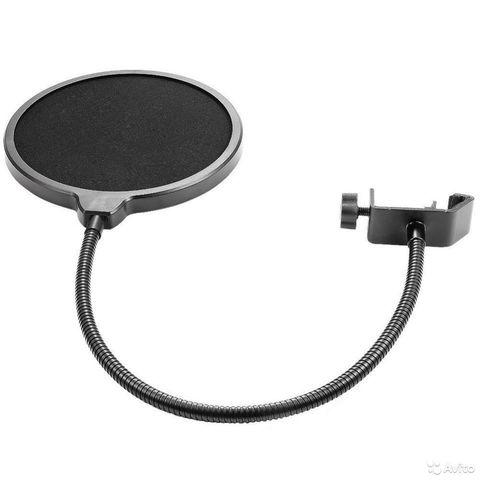 Большой Поп фильтр для микрофона универсальный POP filter