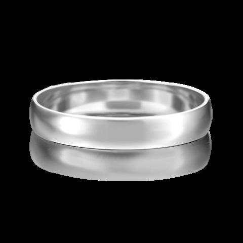 01-4273-00-000-2100-45 - Обручальное кольцо из платины 950 пробы, ширина 4 мм