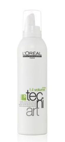 Мусс для объема нормальных и непослушных волос (фикс.5), Loreal,250 мл.