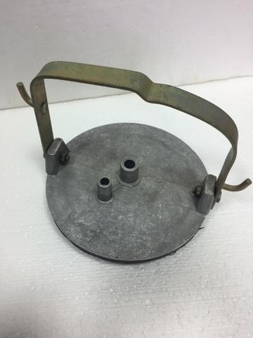 Крышка для доильного ведра с прокладкой