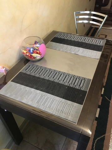 Гибкое стекло на стол