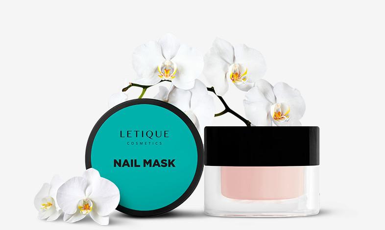 Маска для ногтей и кутикулы Letique Cosmetics Nail Mask