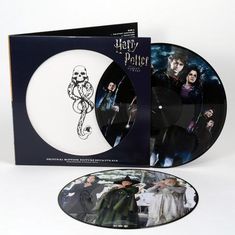 Комплект из двух виниловых пластинок. Гарри Поттер и Кубок Огня || Harry Potter and the Goblet of Fire