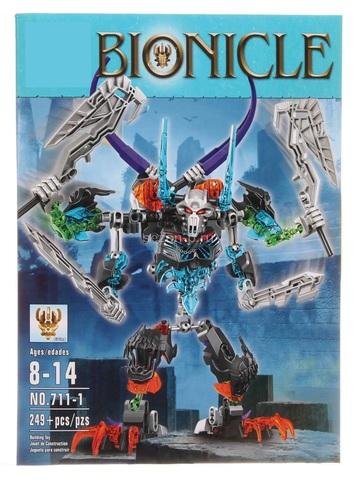 Конструктор ksz Bionicle Стальной череп 711-1, 249 дет.