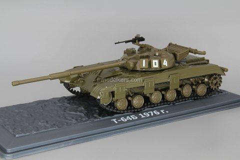 Tank T-64 1:43 DeAgostini Tanks. Legends Patriotic armored vehicles #4