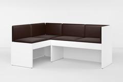 Модульный диван Soho 2-х секционный, шоколадный
