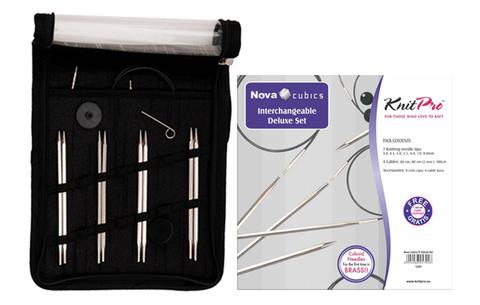 KnitPro Nova Cubics Набор разъемных спиц