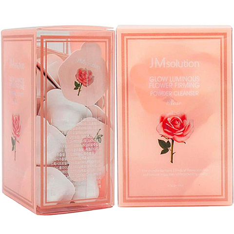 Luminious flower firming powder cleanser rose