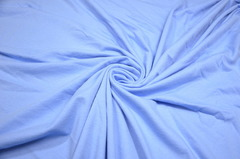 Хлопок кулирка голубой 15*15 см