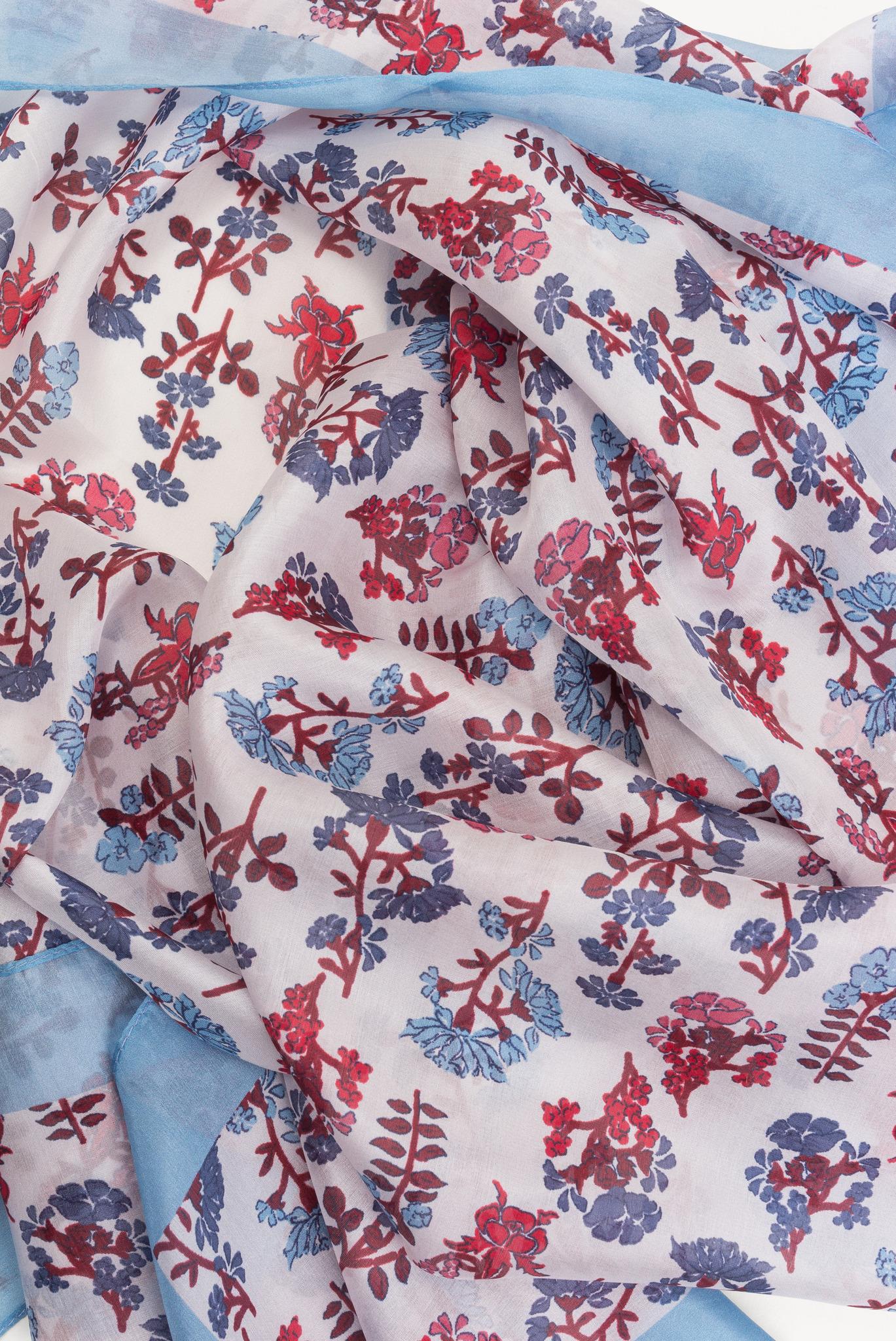 IRIS - Шелковый шарф с принтом