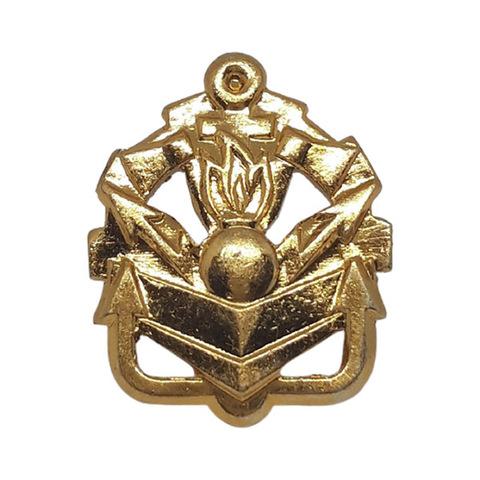 Эмблема петличная Инженерные войска, металл. золотой