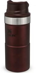 Термокружка Stanley Classic Trigger Action 0,35L One hand 2.0 (10-09848-010) бордовая