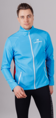 Беговая куртка Nordski Premium Run Blue/Red унисекс