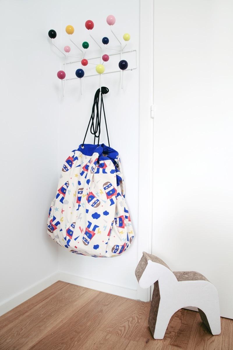 Коврик-мешок для игрушек Play&Go. Коллекция Designer. Супергерой