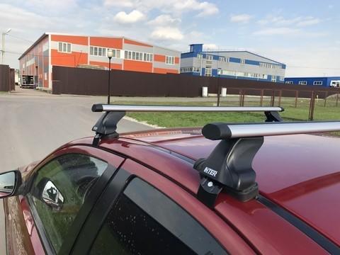 Багажник Интер на Citroen C4 Picasso 2007-2013 в штатные места 8896 аэродинамические дуги 120 см.