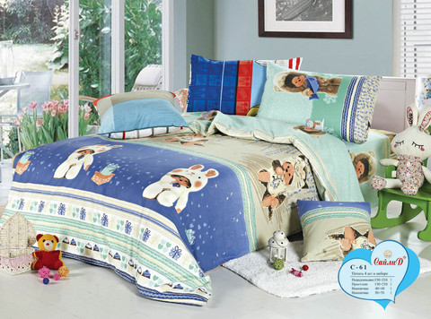 Детское постельное белье СайлиД C-61