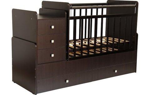 Кровать детская Фея 1100 венге