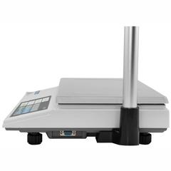 Весы торговые настольные CAS AP-1 (15M), RS232, 15кг, 2/5гр, 220x340, с поверкой, со стойкой