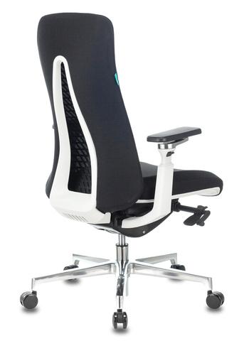 Кресло руководителя Бюрократ _MONE черный сетка/ткань крестовина алюминий