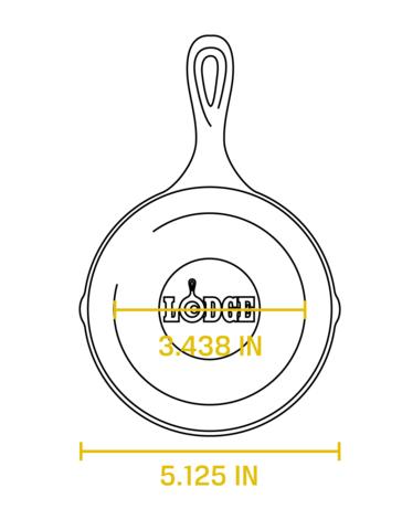 Сковорода чугунная, артикул H5MS