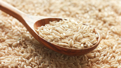 Рис бурый нешлифованный, 1 кг