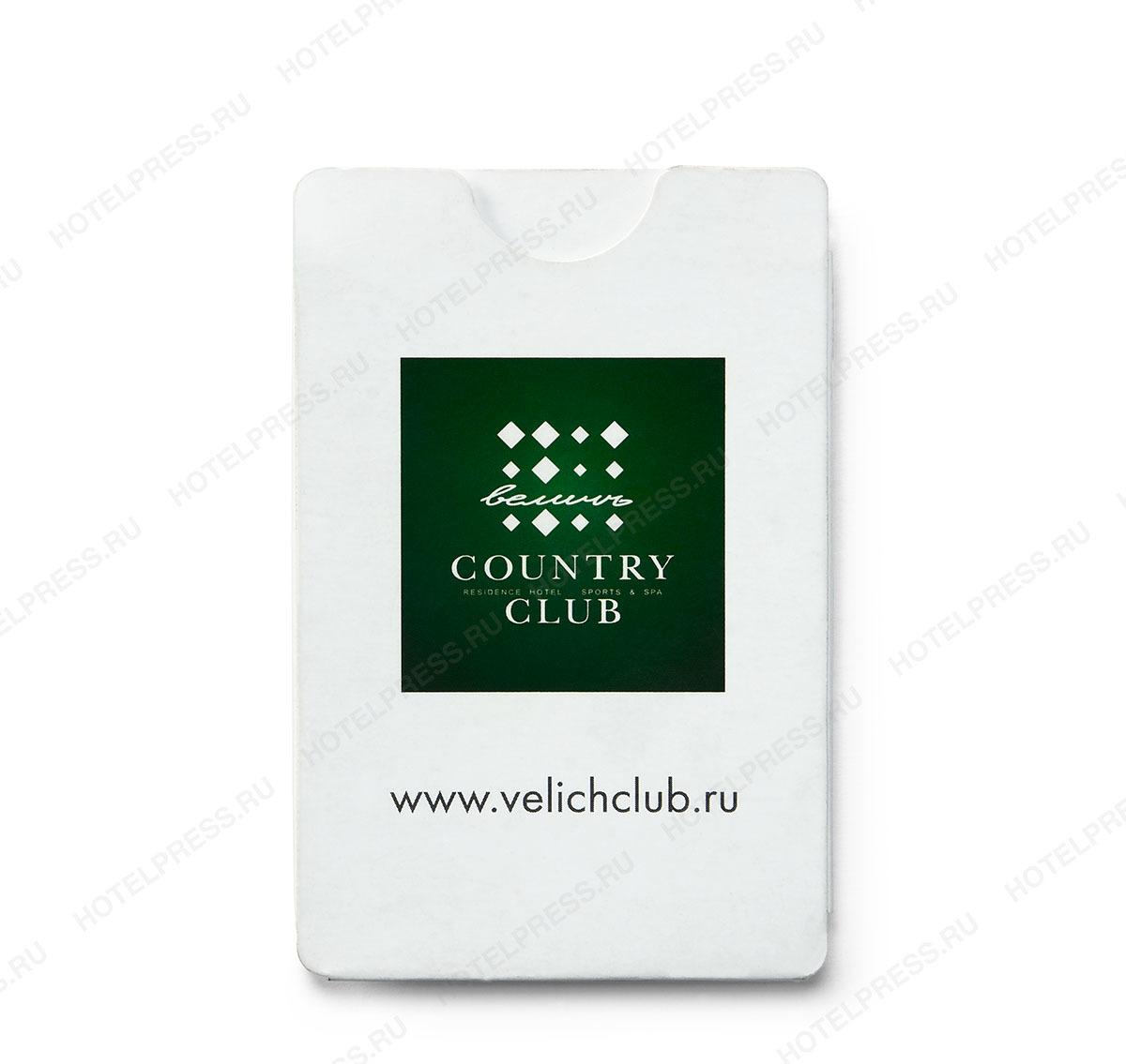 Кардхолдер с Z-картой отеля COUNTRY CLUB