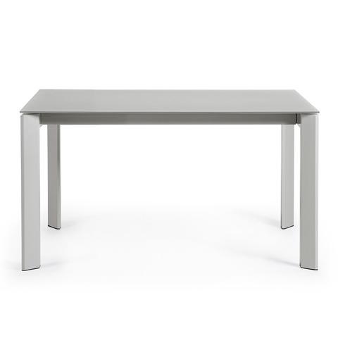 Стол Atta 140 (200) x90 серый