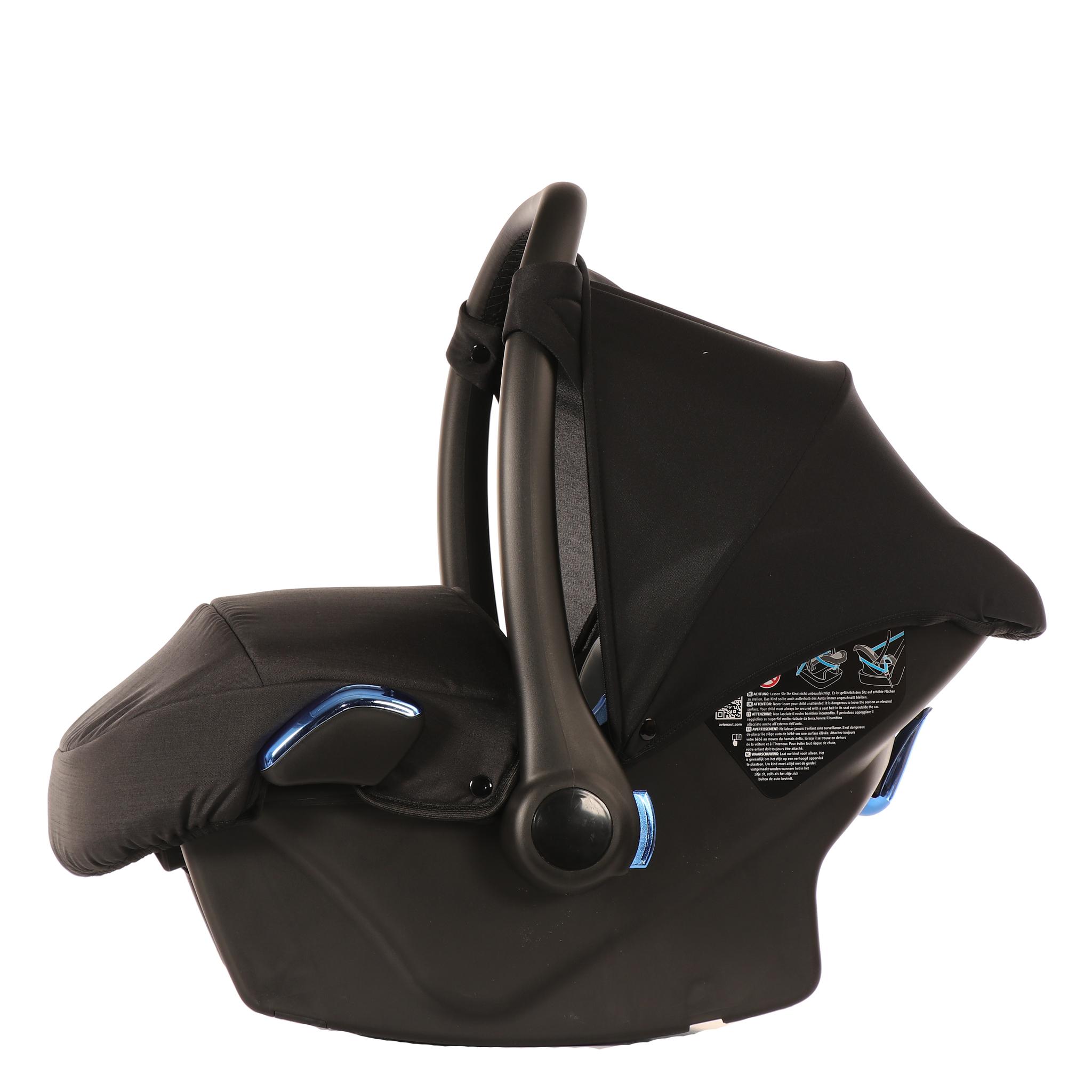 JUNAMA Автокресло JUNAMA (Ткань) черное с синим  AJ-I02 AJ-I02_черный-_синий.JPG