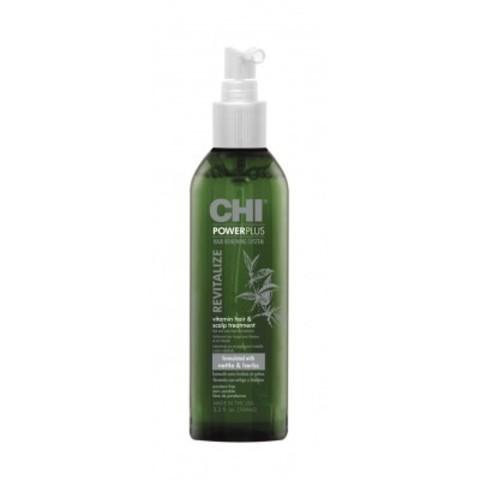 CHI Power Plus: Восстанавливающее витаминное средство для ухода за волосами, 104мл