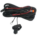 Комплект проводов с разъёмом, герметичной кнопкой, крепёжной лентой, реле, предохранителем ALO-AW5 фото-1
