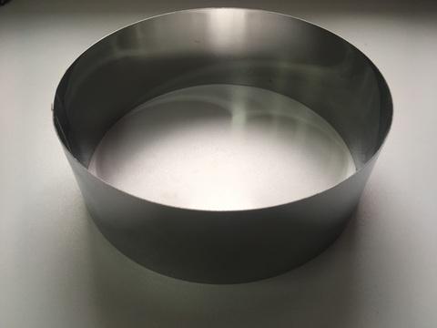 Кольцо-резак для торта H10 D28, нерж. сталь 1 мм.