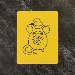 Мышка №25 с сыром