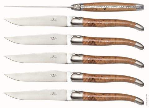 Набор из 6 столовых ножей, Forge de LaguioleT6 2M IN GE