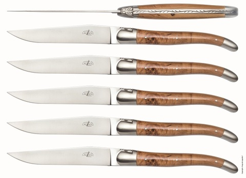 Набор из 6 столовых ножей, Forge de Laguiole T6 2M IN GE