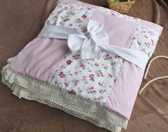 Демисезонный конверт одеяло на выписку из роддома Весеннее очарование