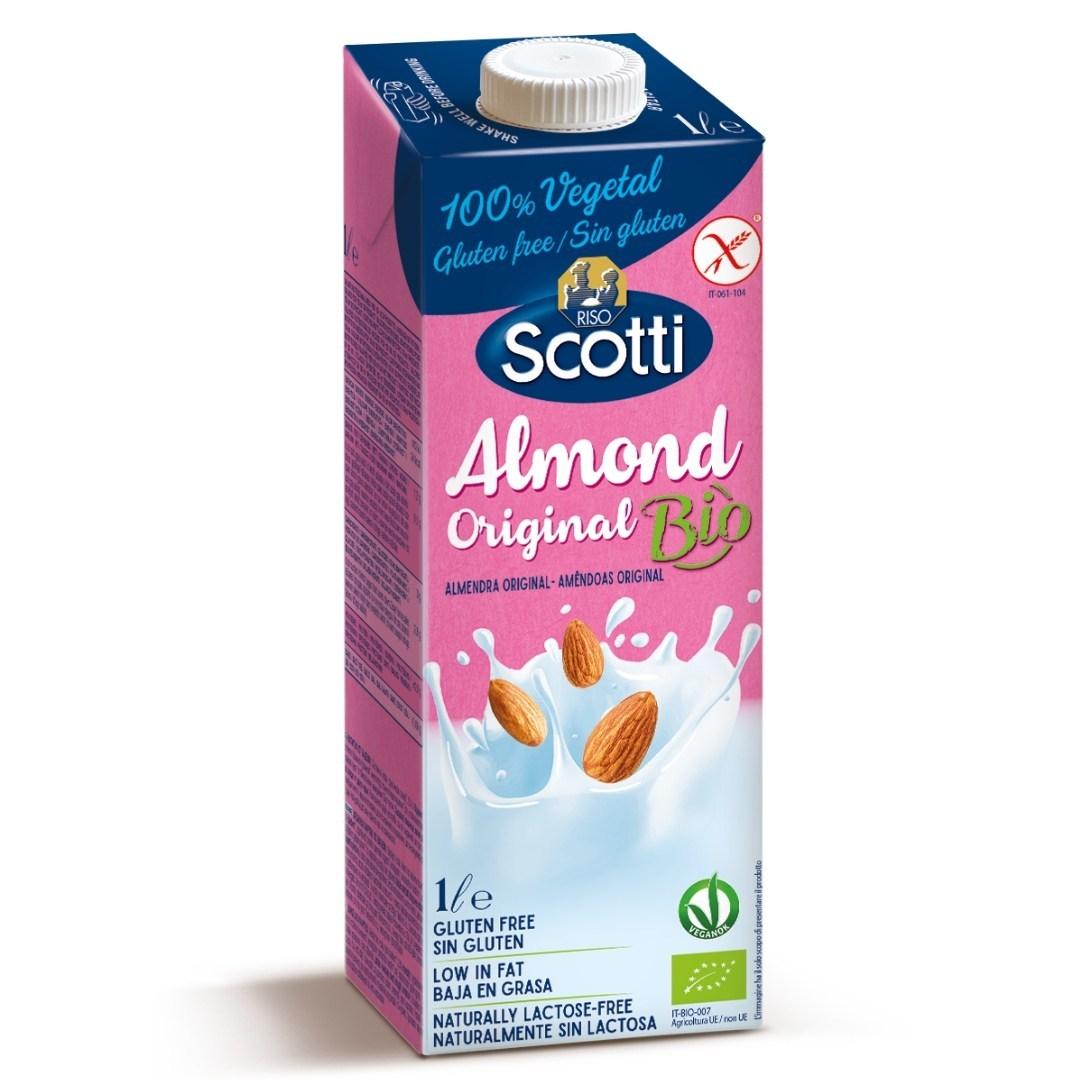 Органический миндальный напиток (сладкий) 1л