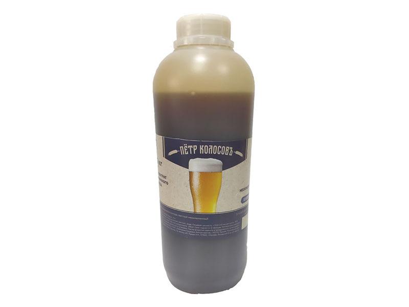 Экстракты Неохмеленый солодовый экстракт Пивоварня.Ру Пшеничный 1,3 кг пшеничный.jpg