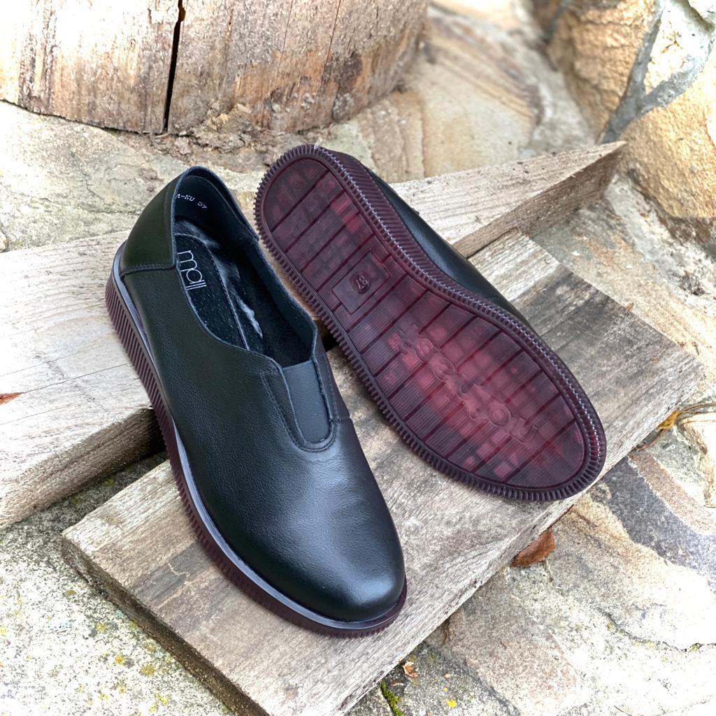 Madella Туфли XDU-02741-1A-KU черн кожа