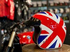 Мотошлем открытый Torc T-50 UK Flag