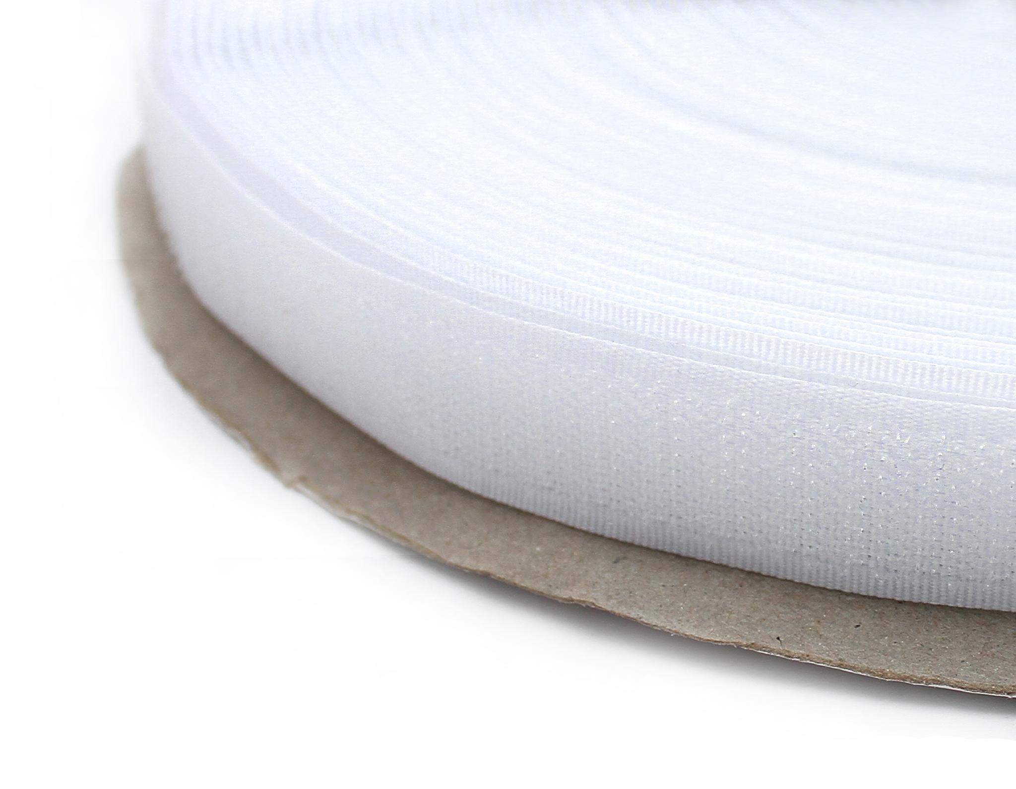 Контактная лента,20 мм,белый(липучка)