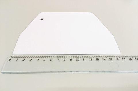 Шпатель пластиковый, 17 см