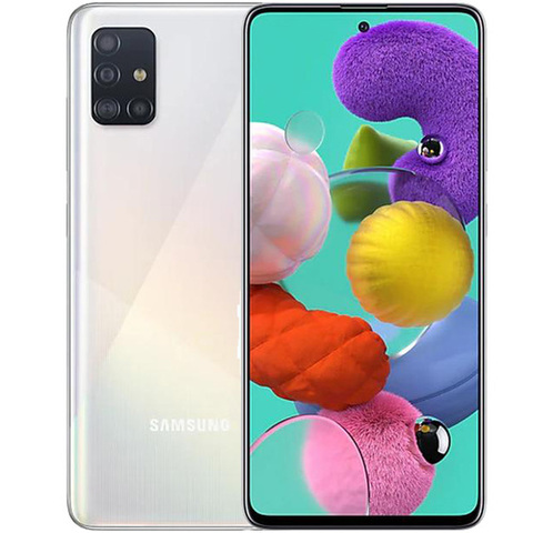 Смартфон Samsung Galaxy A51 128GB (Белый)